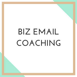 Email Coaching For Creative Entrepreneurs