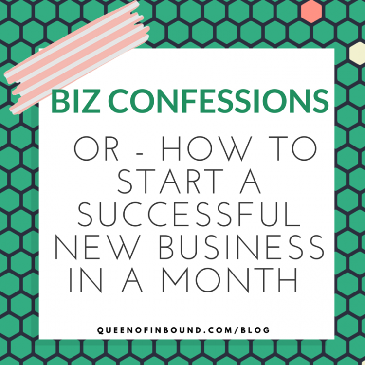 Lessons Learned From Starting A New Business In A Month