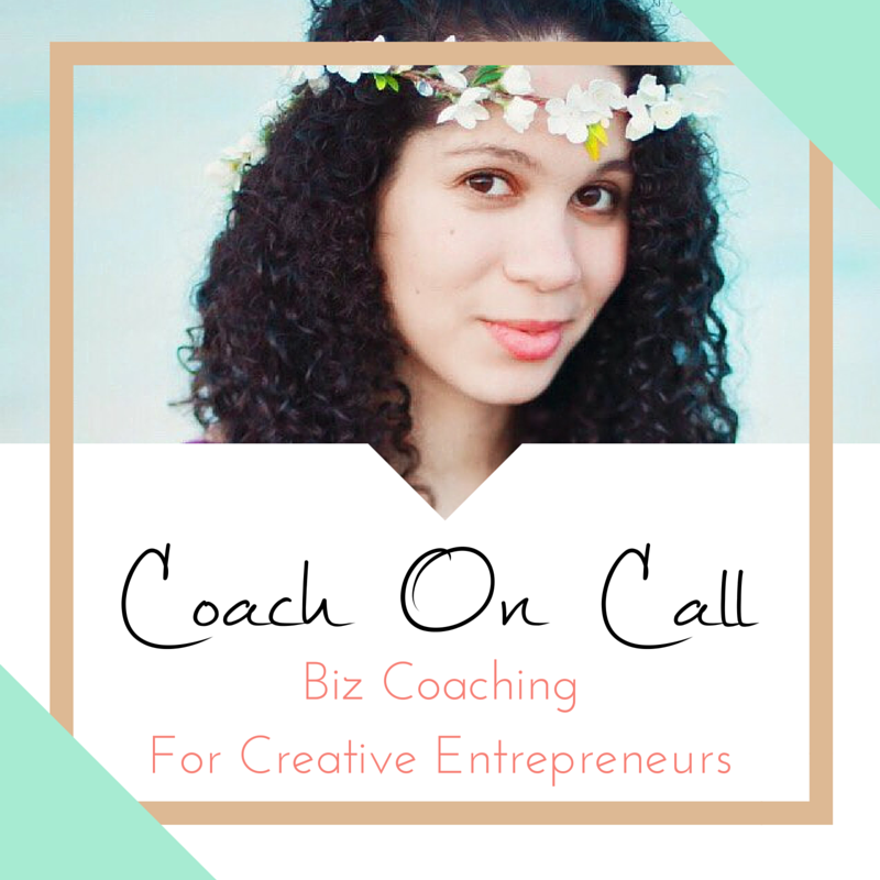 Coach On Call, Business Coaching For Creative Entreprenurs