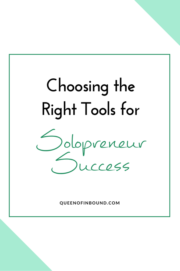 Being a solopreneur means that you are in charge of your own success, but do you have the tools that are needed in order to make that success happen? Read this blog post to learn more about how to choose the right tools for solopreneur success!